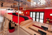 Boys room ideas / inspiration for decorating a great boys bedroom space