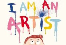 Books for Young Artists / Books to inspire young minds!