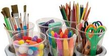 Art Room and Organization / Organization Tip, Art Displays, Art Bulletin Boards, Cleaning Tip and anything to make keeping your art room orgainzed and running smoothly.