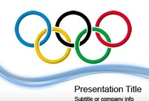 Olympics PowerPoint Templates / by Free PowerPoint Templates