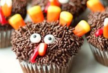 Holidays - Thanksgiving / Thanksgiving themed food, crafts and games.