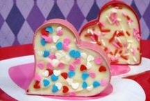Holidays - Valentine's / Valentine's Day themed food, crafts, gifts, games, etc.