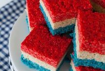 Eats - Patriotic Treats / All Things Red, White & Blue -  4th of July Memorial Day Labor Day