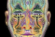 Transcendent/ Visionary/ Sacred / Art that is strongly influenced by or expresses transcendence or spiritual states of mind