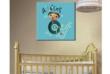 Παιδικοί πίνακες σε καμβά / Πίνακες βρεφικοί, παιδικοί σε υπέροχα σχέδια και ξεχωριστό ύφος.  Κάθε σχέδιο είναι διαθέσιμο με το όνομα που θέλετε! http://www.stickit.gr/