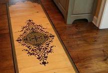 DIY Home: FLOORS & Rugs / Life is like dancing. If we have a big floor, many people will dance. - Miguel Angel Ruiz