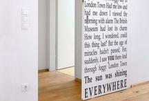 DIY Home: DOORS / Happiness often sneaks in through a door you didn't know you left open. - John Barrymore