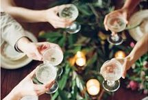 Cheers! / Easy entertaining for all the aspiring Gatsby's.