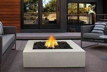 Real Flame Fire Pits / For nearly 30 years Real Flame has been the leader in the production and sale of gel-fueled and electric fireplaces and accessories. All Real Flame products are manufactured to the highest standards and of course safety is the top priority in all of designs. No chimney, no gas hookups and no electricity needed. Makes an ideal addition to any room in all types of homes adding the warmth and ambience of a real fire without the hassle and expense of costly installations.