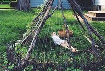 Garden: Arbor,Trellis & fence