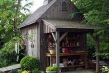 garden: shed & structures