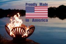 Made in America / Whether it's patriotic statuary to help you celebrate the 4th of July or everyday outdoor living items, here are some of the proudly Made in America manufacturers we carry at LandscaperOutlet.com!