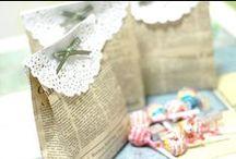 Kakkupaperista - Paper  doily / Askarteluja käyttäen kakkupaperia.