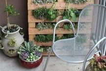 Urban Gardening & Container Gardens / Make your compact outdoor space (such as a balcony) a green oasis with smartly designed vertical planters, modern bistro sets and eye-catching accents. Browse now at www.LandscaperOutlet.com