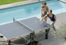 Cornilleau / We're happy to announce the addition of Cornilleau ping pong tennis tables to our site! The company has designed, developed, and produced innovative and top-quality tables for more than 40 years, using galvanized steel and other anti-corrosion materials, so you'll easily enjoy outdoor fun for years to come. http://bit.ly/1QnatQS