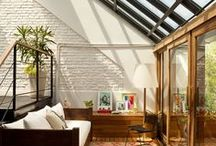 stunning roof (windows) solutions / Interior design   Interior decoration   Rooftop design   Beautiful home design   Bold interior   Moody interior   Scandinavian bold