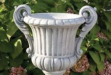 Classic Outdoor Decor Inspiration / If you're a fan of Roman and Greek statuary, or the elegant grace of Versailles, you'll love our selection of classic style planters, statues and fountains at LandscaperOutlet.com