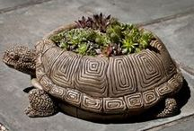 Nature, Critter & Pet Themed Decor / Love the outdoors? Express it through your choice of decor. From nature-themed fountains to flower and animal statuary, find what you're looking for at www.LandscaperOutlet.com