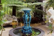 Victorian Garden Style / Bring the grace and elegance of Victorian style garden to your own backyard with these classic fountains, planters and accents. See our full selection at www.LandscaperOutlet.com