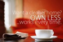 Cleaning that doesn't dominate your life! / Cleaning