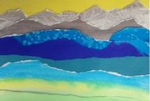 Landscape Artists and Lessons / Art lessons that teach how to make a landscape.