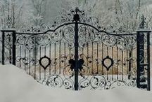Through the Garden Gate... / by c stakes