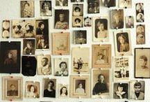 Vintage portraits / Portrait d'autrefois... / by Les p' tits les arts
