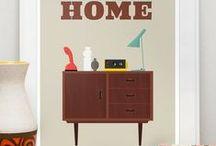 Sweet home Scandinave / simplicité, chaleur, couleurs douces / by Les p' tits les arts
