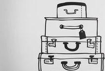 Faire ses valises / by Les p' tits les arts