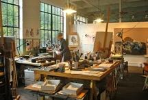 Studio ideas / by Diane Rankin