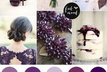 Purple & Violet Wedding Ideas / Lots of purple wedding theme ideas from wedding hair accessories, jewellery to the reception. Purple,violet & lilac & lavander are never out of fashion for weddings & you'll see from our ideas why.