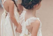 Flower girls wedding ideas / Oh! how pretty lovely wedding ideas fro the flower girls from pretty dress to jewellery and accessories, how cute.  ayedo.co.uk