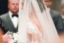 Wedding Veils / Wedding veils with sparkly diamantes, Swarovski crystals & gorgeous pearls. Long cathedral, short bouffant or stylish bridcage veils.