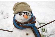 Snowmen :-) / by Line Huot