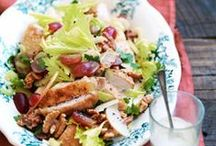 Salads / Healthy recipes for lunch or light diner.