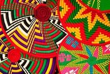 African Textiles / Colorful, textiles, vivid images