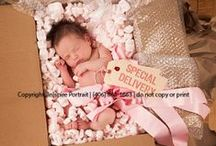 B Birth Announcements/Newborn Photography / Baby's arrival announcements and newborn photos ideas. / by Samantha Petersen