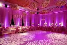 Fushia & Bright Pink Wedding Ideas / Fushia & Bright Pink wedding hair accessories, jewellery, ring cushions, handbags,#reception ideas and lots more.