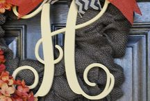 Signature Style & Monograms / So simply Southern.
