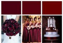 Burgundy & Deep Red Wedding Theme Ideas / burgundy,claret,red wedding theme ideas with touches of diamante sparkles, reception ideas, wedding hair accessories & bridal jewellery