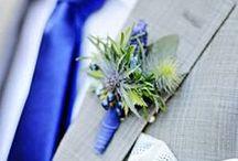 Royal Blue Wedding Ideas / Royal (cobalt) Blue #Wedding Ideas 2014 trends with reception ideas tiara headband ideas & wedding jewellery & accessories