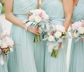 Mint, Pale Green, Duck Egg Blue Wedding Ideas / Mint, Pale Green, Duck Egg Blue Wedding Ideas full of gorgeous wedding jewellery reception ideas flowers accessories hair ideas. This is a HOT!!!! wedding colour trend