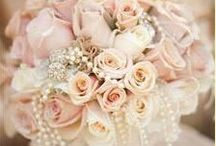 Rose Quartz,Blush Pinks & Dusky Rose Wedding Ideas / Rose Quartz,Blush Pinks & Dusky Rose Wedding Ideas , old vintage rose inspiration with shades on pink and reds. This theme has a mixture of wedding flowers and gorgeous floating beaded wedding dresses complimented with beautiful pearl and diamante wedding accesories