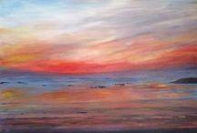 Seascape & landscape paintings by Maragret Hetherington Scotland UK / Scottish artists - View and buy Margaret Hetheringtons gorgeous Scottish Paintings here .https://www.artgallery.co.uk/artist/margaret_hetherington