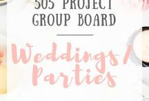 Weddings/Parties - 505 Project Group Board / This is a group board for members of the 505 Project and it is by invitation only. Limit of 5/pins per day, nothing for sale, please stay on topic #weddings #marriage #ido #venues #birthdays #babyshowers #partyfood #invitations #birthdayparties #bridalshower #weddingparty #sparklytouches #happybirthday #brideandgroom #guests #partygames #sweet16 #partygoods #partysupplies #decorations