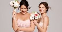 Brides & Bridesmaids Curvy Plus Size Dresses & Accessories / Beauty comes in all shapes & sizes & we think your gorgeous so lets make you feel amazing with our dress & accessories ideas for curvy plus size brides & bridesmaids. Whether you are a size 16,18 or a larger bride or bridesmaid you should sparkle like everyone else ******