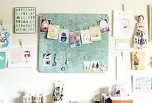 wOrkspace & studiO lOve / InspiratiOn fOr my future in-hOme art studiO . . . / by Stephanie Locke