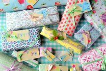 pretty packaging / presents, presents, & mOre presents!! / by Stephanie Locke