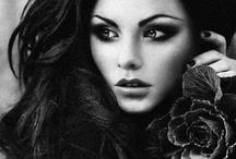 Black and White Beauty / by Cymoni Larsen