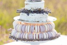 Lavender Inspiration Cakes & Decorations / Lavender Inspired Theme for Carries Wedding at Hotel Convento Mgadalena - April 10th 2012